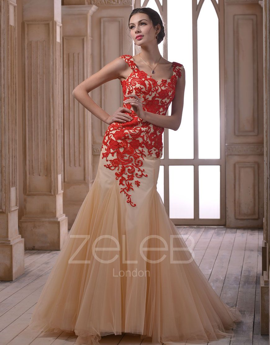 Lace Evening Dress for a wedding reception | Reception outfits ...