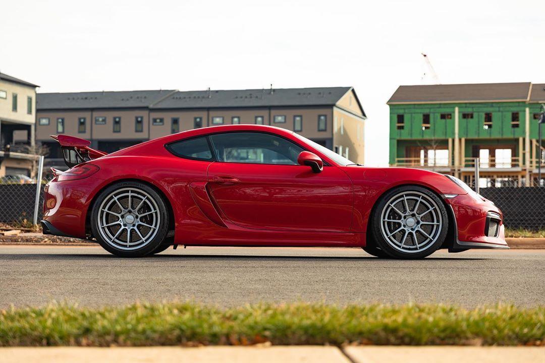 Forrest Sonntag Performance wheels, Cayman gt4, Porsche