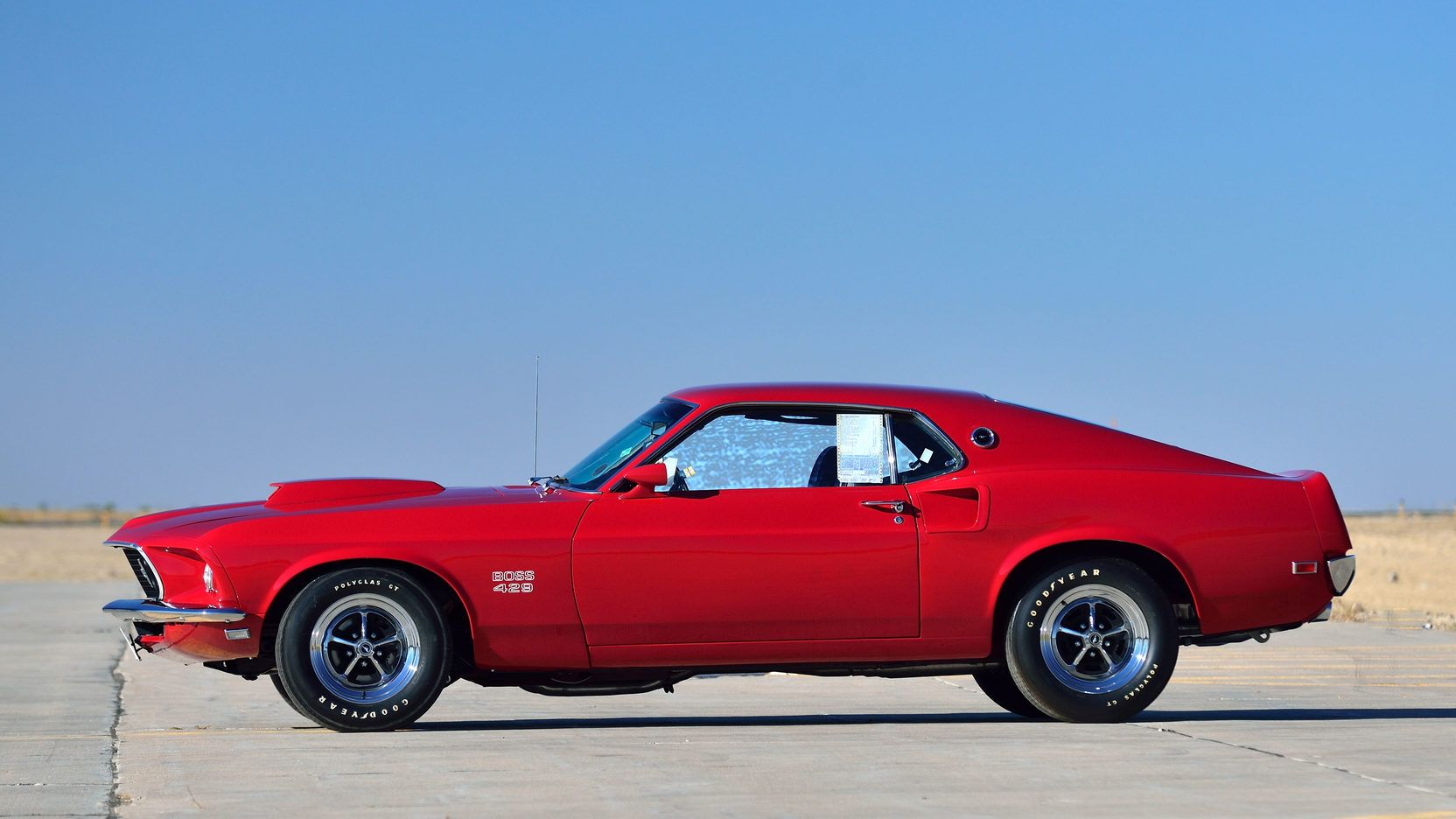 1969 Ford Mustang Boss 429 In Candy Apple Red Kk 1663 Mustang