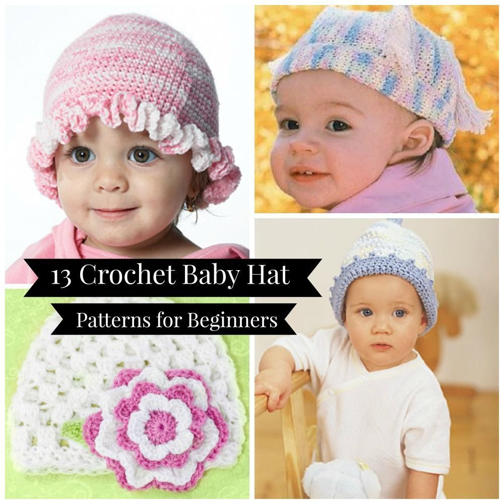 18 Crochet Baby Hat Patterns for Beginners #favecraftscom 13 Crochet Baby Hat Patterns for Beginners #favecraftscom 18 Crochet Baby Hat Patterns for Beginners #favecraftscom 13 Crochet Baby Hat Patterns for Beginners #favecraftscom