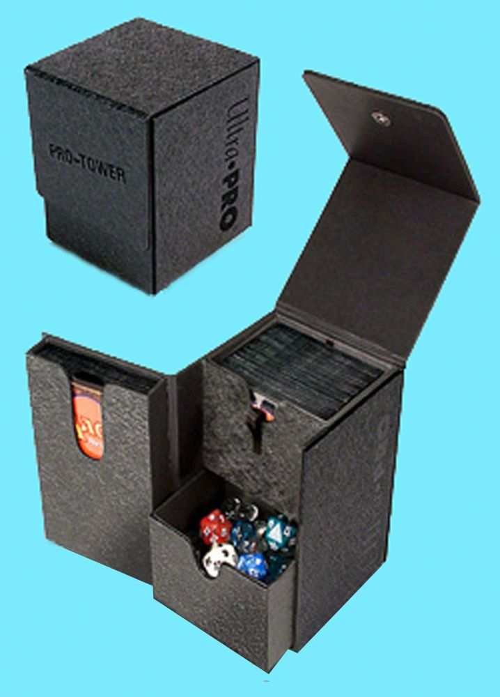 3 Pro Safe Gaming Box Pokemon,Yu Gi Oh Black