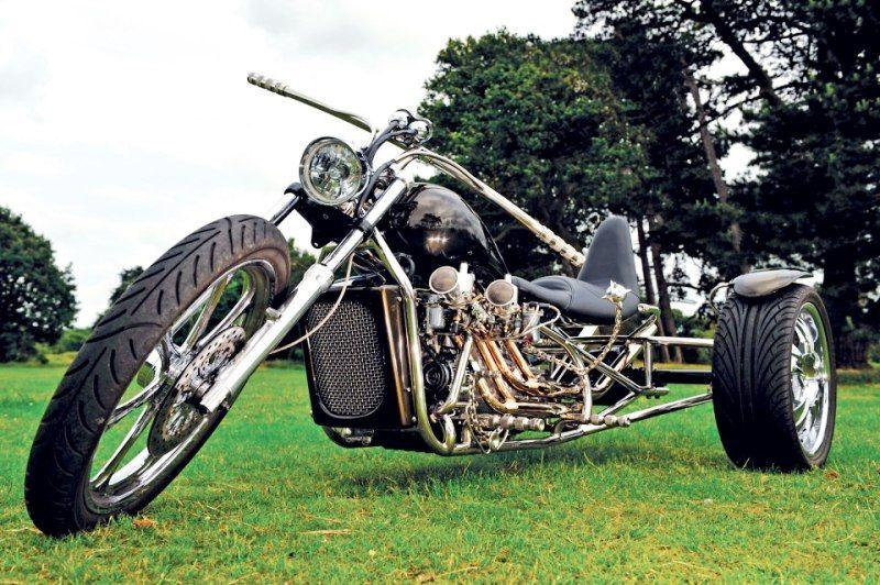 Cool trike ! Trike motorcycle, Custom trikes, Trike