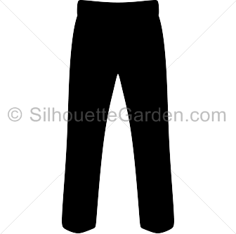 Pants Silhouette Silhouette Clip Art Pants Silhouette