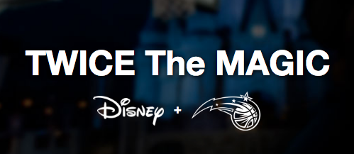 uk availability c3815 043e5 Receive a Free Orlando Magic Jersey with Walt Disney World ...