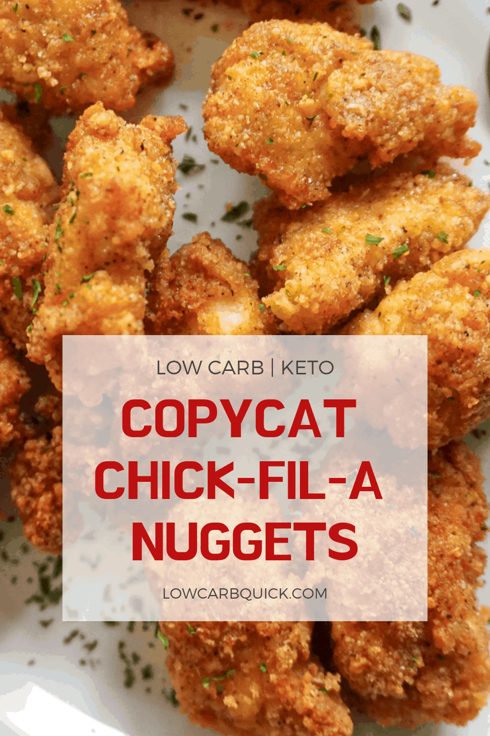 Keto Easy Copycat Chick-fil-A Nuggets (EASY) — LOW