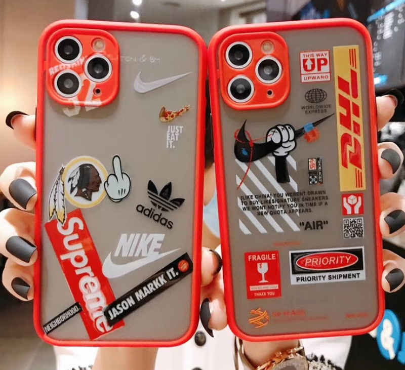 Supreme Nike Adidas Off White Dhl Pour Apple Iphone 11 Pro Max Xr X X 6 7 8 In 2020 Iphone Phone Cases Iphone 11 Apple Iphone