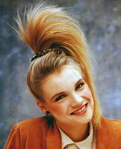 80s Hairstyles 5 the high half pony scrunchy mandetory How To Do 80s Hairstyles In Simple Steps Latest Hairstyle Women