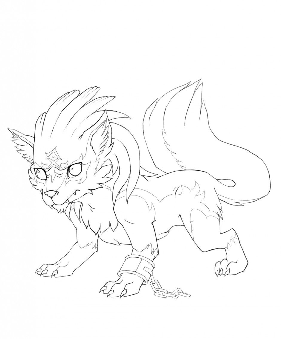 demon coloring pages Demon Coloring Pages for Adults | twilight wolf colouring pages  demon coloring pages