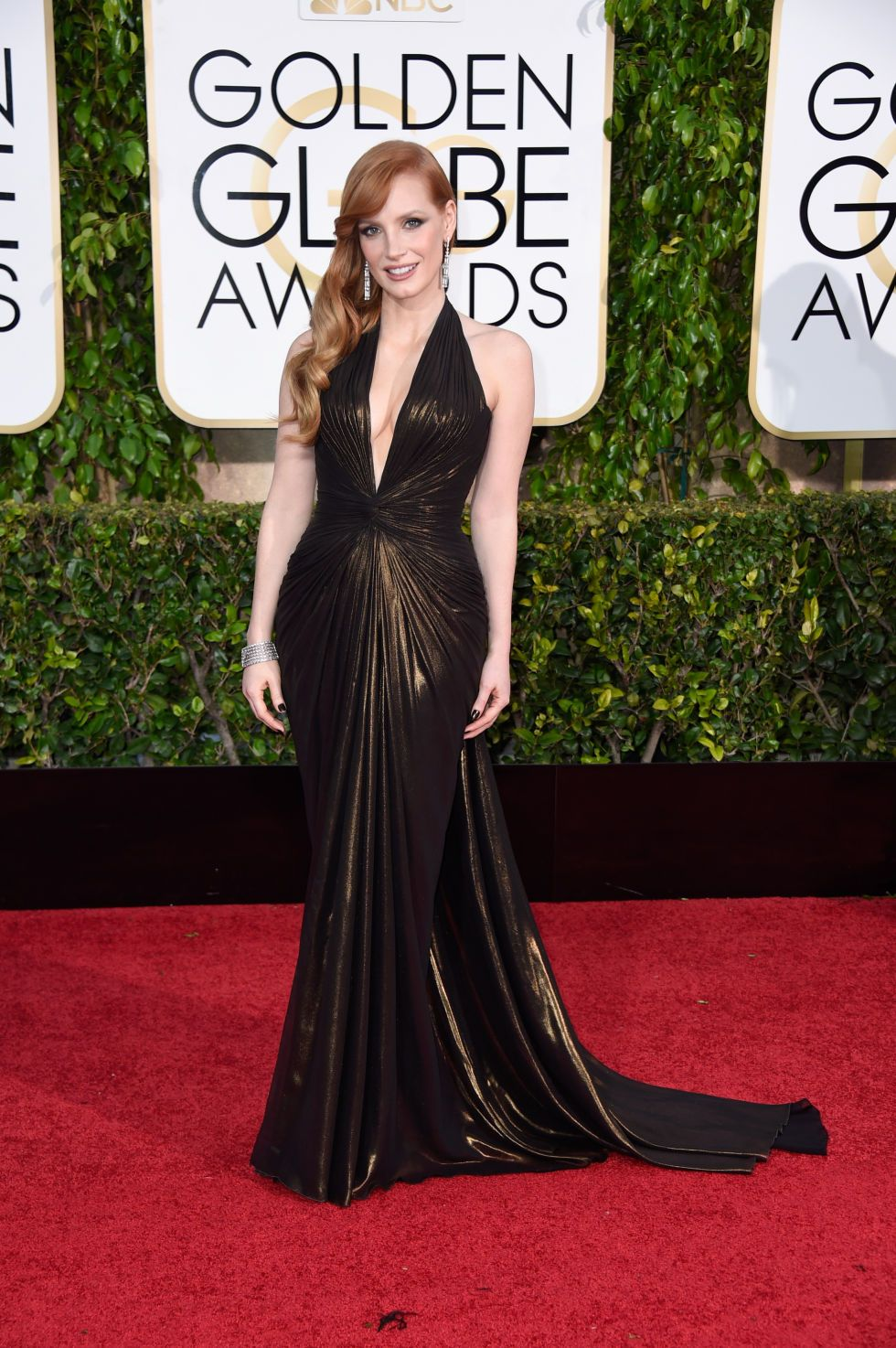 72nd Annual Golden Globe Awards - Beautiful Dress
