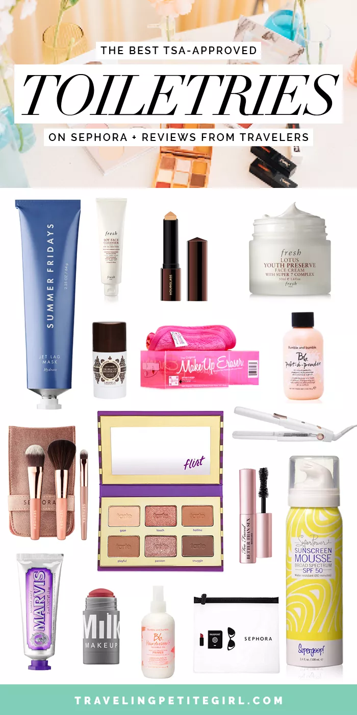 The Best TSAApproved Toiletries on Sephora + Reviews From