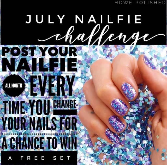 color street nailfie challenge july - Google Search