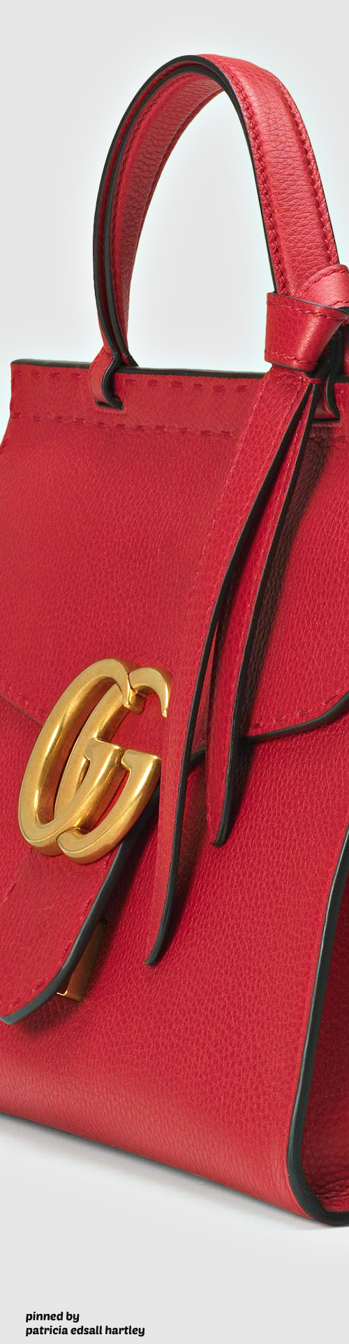 GG Marmont leather top handle bag♡♡♡♡♡