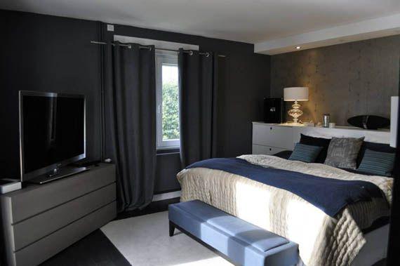 Aur lie hemar d voile sa d co d 39 int rieur en gris et rose framboise chambre pinterest - Decoration salon framboise ...