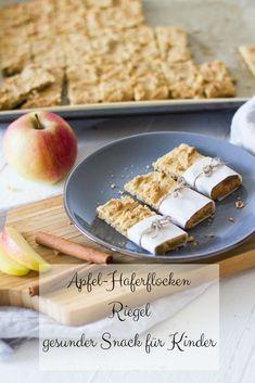 Apfel-Haferflocken Riegel - gesunder Snack ⋆ Lieblingszwei * Mama- & Foodblog