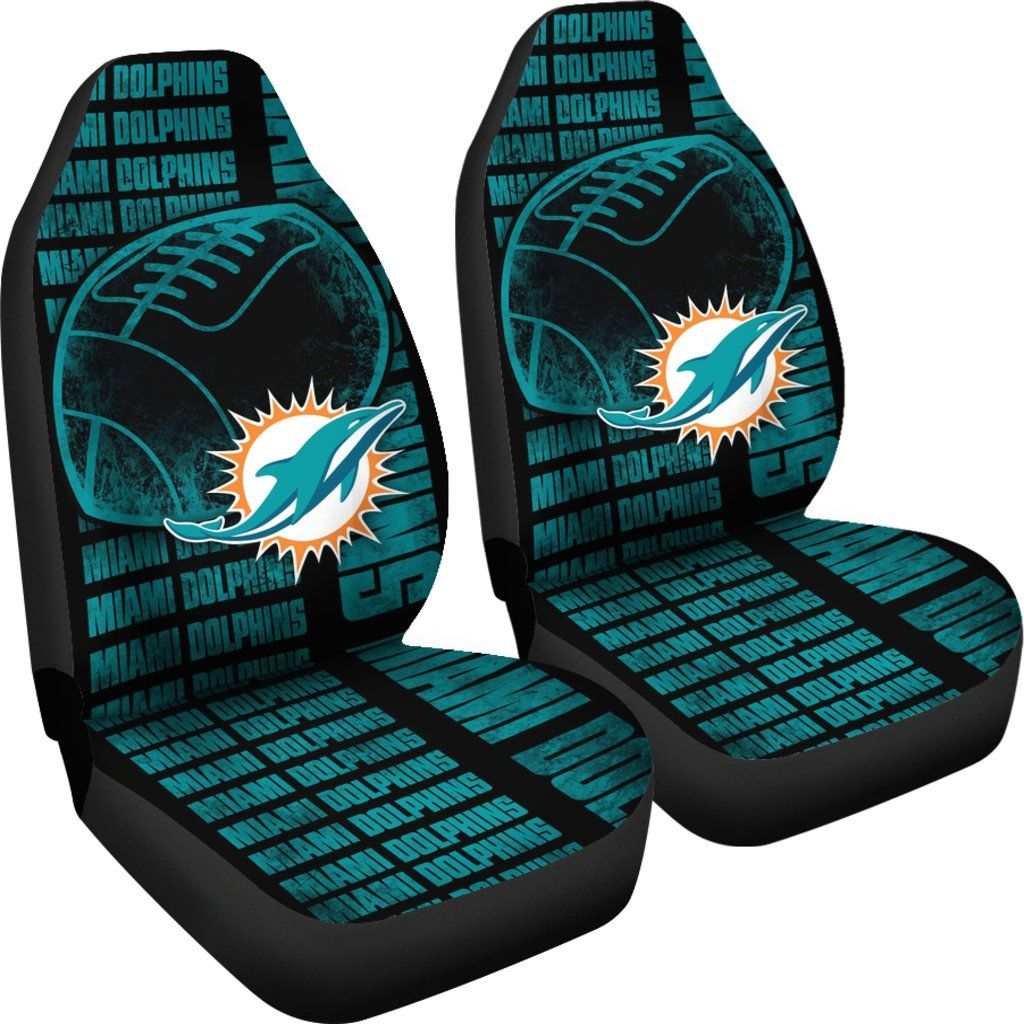 Brilliant The Victory Miami Dolphins Car Seat Covers Stuff To Buy Pabps2019 Chair Design Images Pabps2019Com