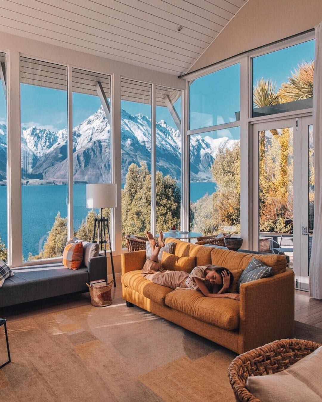 "Best Airbnb On Instagram: ""Matakauri Lodge: Stunning"