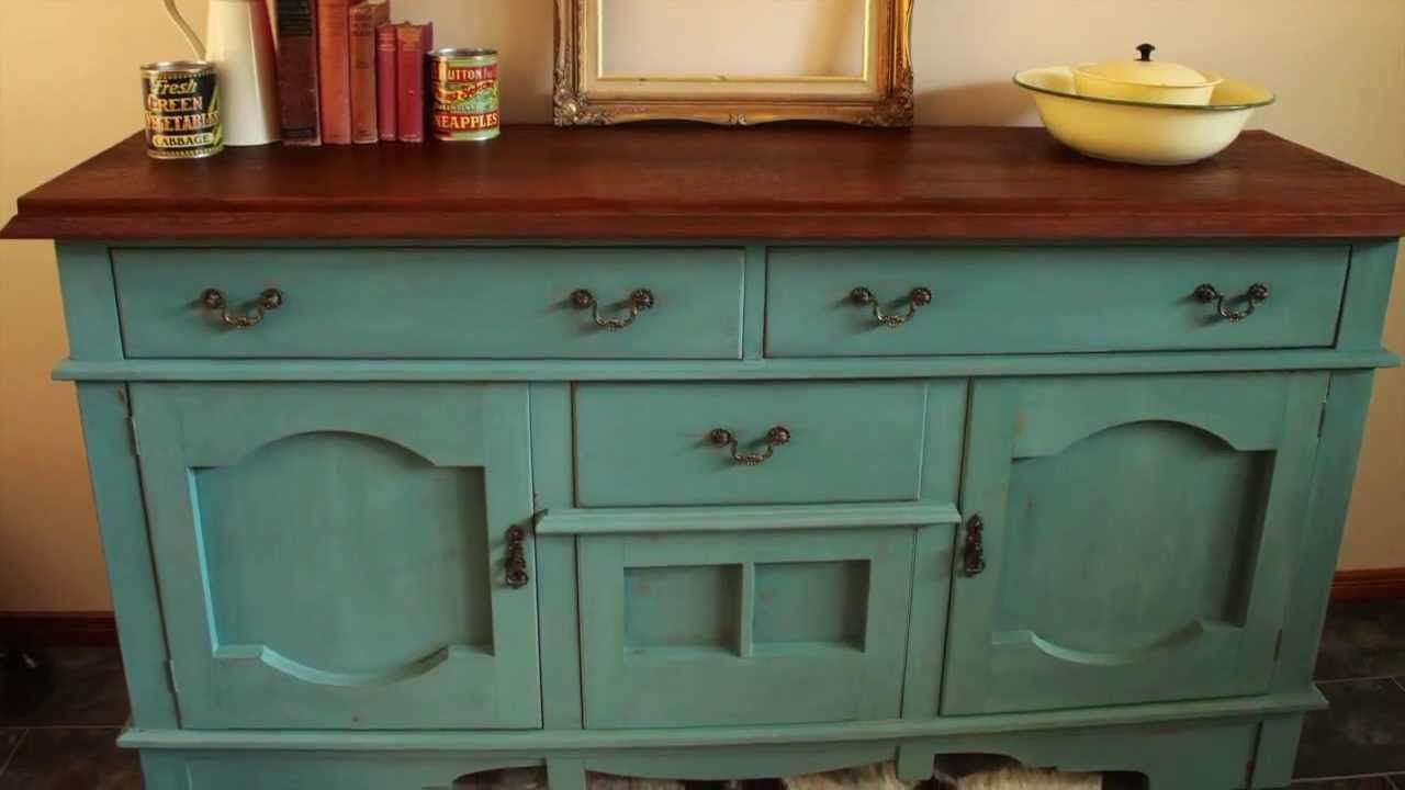 How I Made Over A Sideboard Using Miss Mustard Seed 39 S Milk