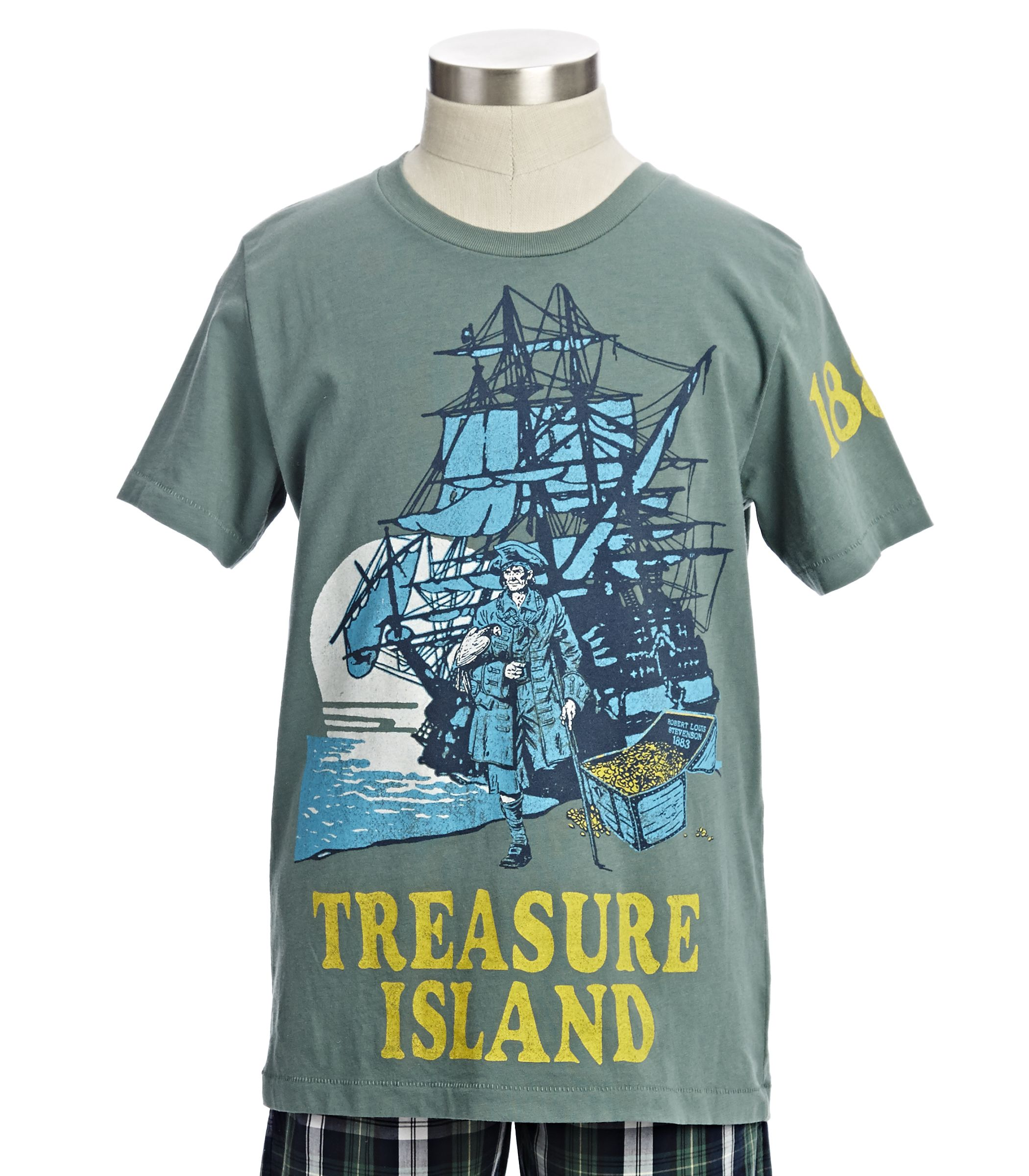 Treasure Island Tee, now available at Peekkids com! | For
