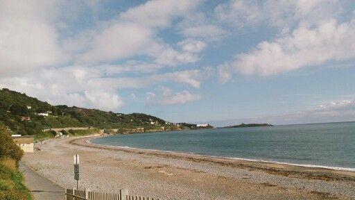Killiney Beach, Ireland.