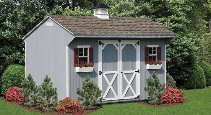 Quaker Storage Sheds Simple Barn Plans More From Lancaster Pa Shed Storage Backyard Structures Backyard Sheds