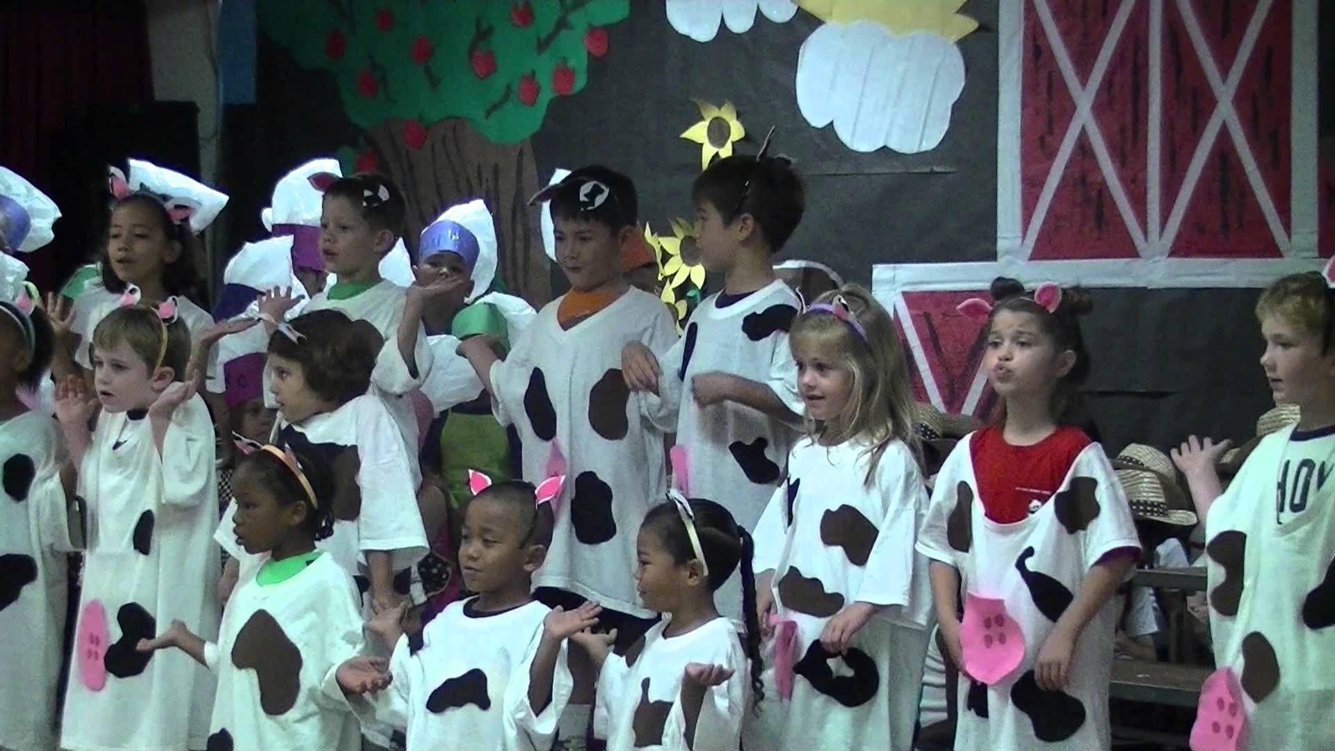 Cows Chorus Line