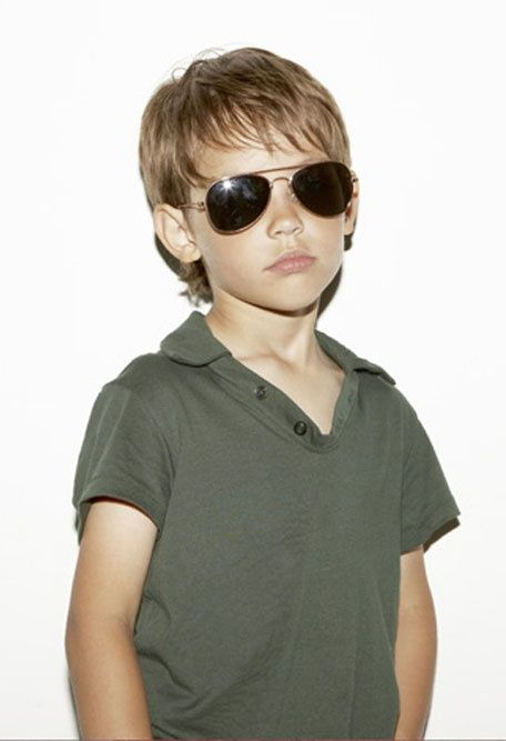 ray ban junior aviator size