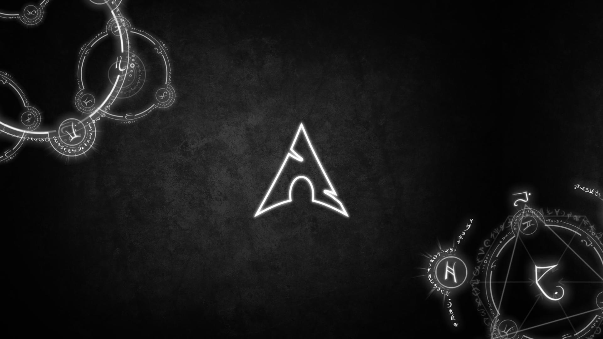 Archlinux Runed Linux Wallpaper Geek Stuff