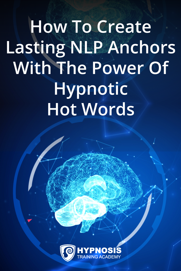 Create Lasting Nlp Anchors With The Power Of Hypnotic Words In 2020 Nlp Learn Hypnosis Nlp Techniques