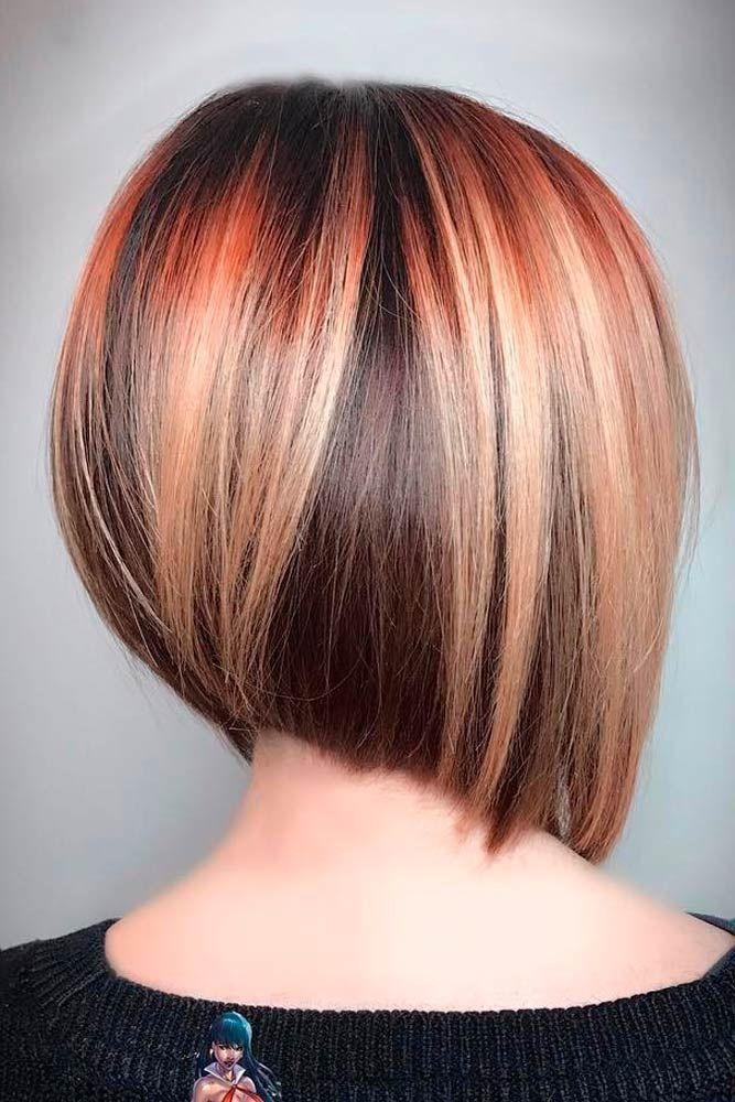 48 Fantastic Stacked Bob Haircut Ideas Hair Pinterest Păr