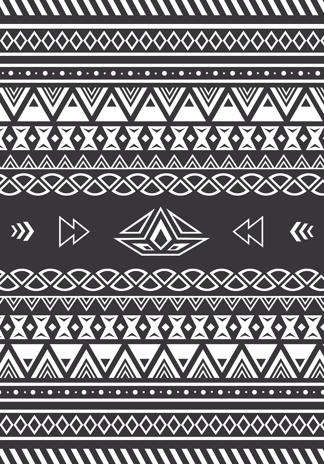 swapiinthehouse: Aztec Pattern | Patterns | Pinterest ...