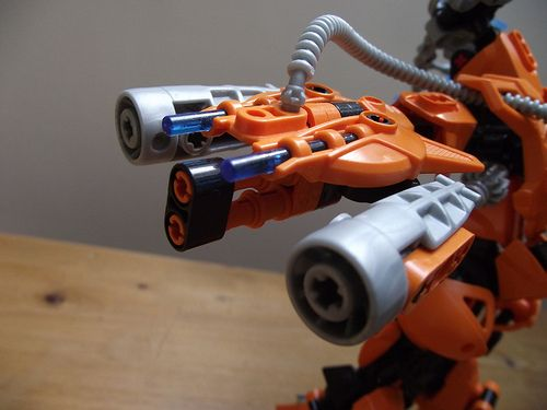 Rotor (Gun open) | This is my redesign of Rotor's jet-gun-th… | Flickr