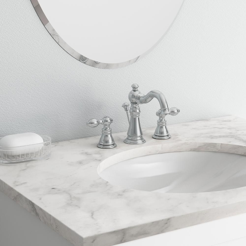 Ultra faucets signature collection in widespread handle