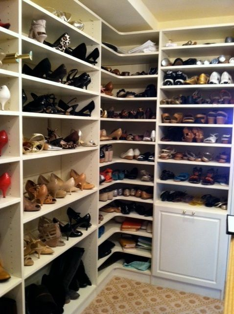 Corner Shelves For Shoes Shoe Rack Closet Closet Storage Systems Closet Designs