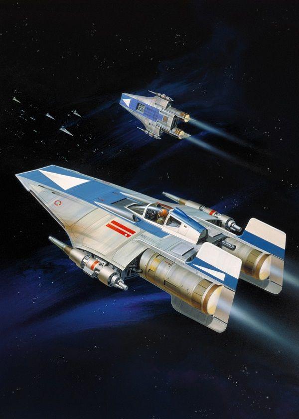 "Official Star Wars Vintage A-Wing #Displate explore Pinterest""> #Displate artwork by artist ""Star Wars"".… | Displate thumbnail"