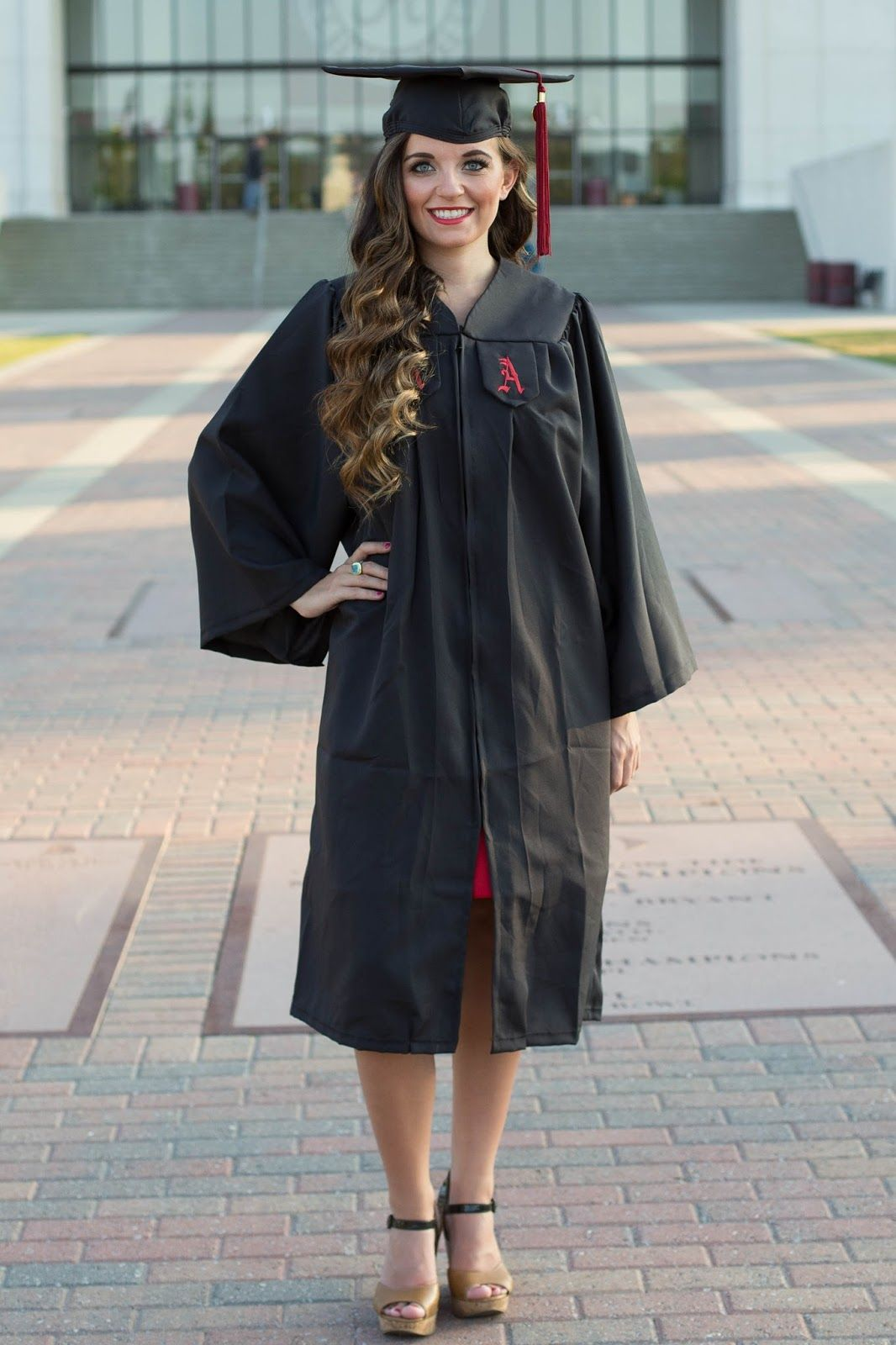 Meghan Neil\'s Graduation Cap and Gown Pictures || The University of ...
