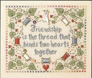 Friends & Friendship - Cross Stitch Patterns & Kits (Page 3