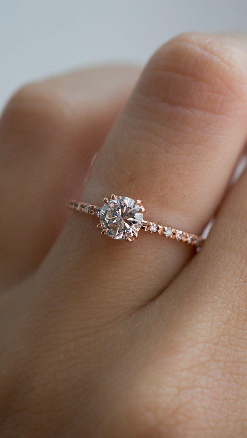 Simple Enement Rings | 100 Simple Vintage Engagement Rings Inspiration 75 Cute Rings