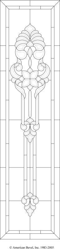 American Bevel - Stained glass, bevel glass clusters, stained glass software, bevel glass