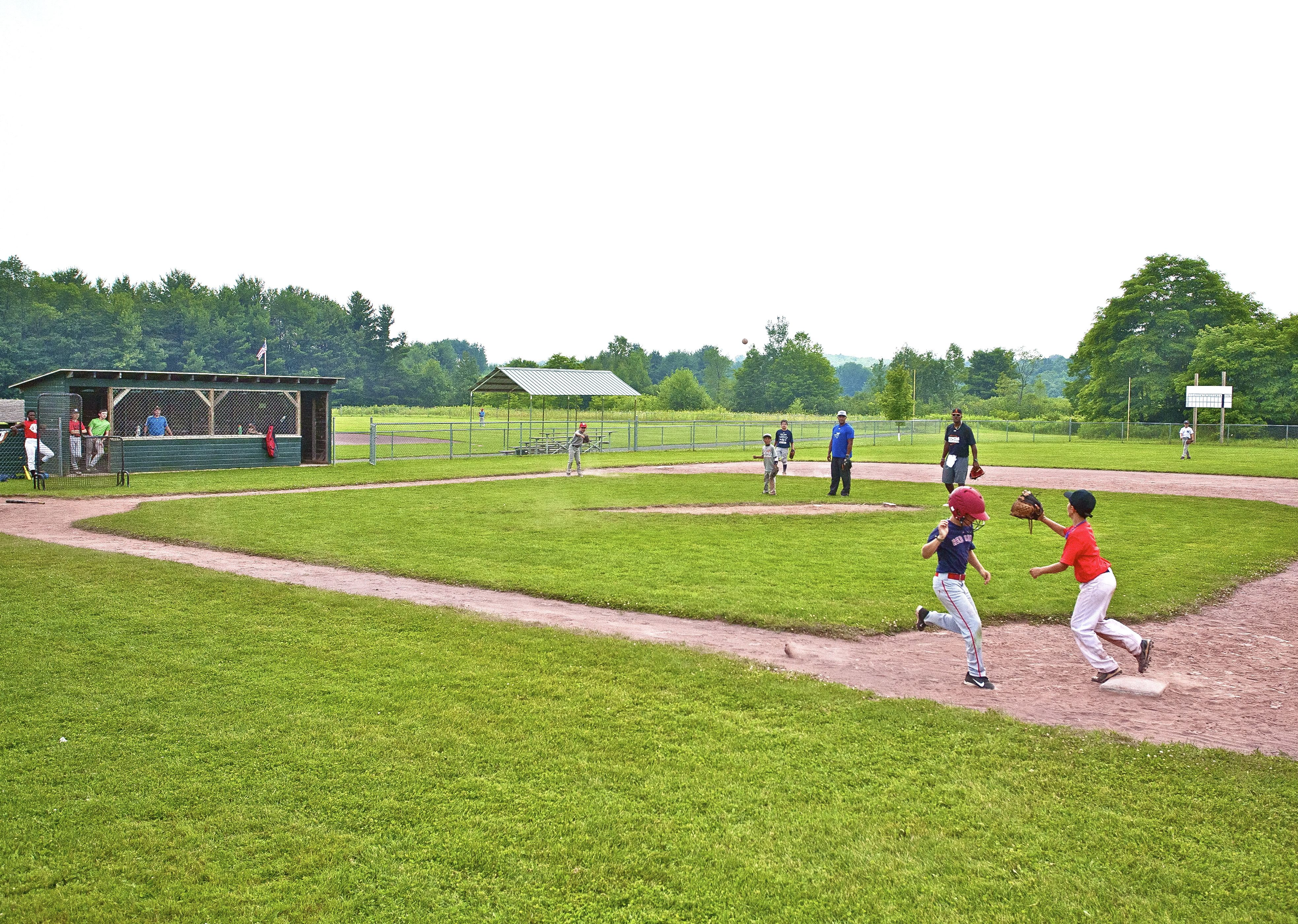 Beaver Valley Campground Has A Major League And A Little League Field Check Us Out On Www Cooperstownbaseball Com Baseball Camp Little League Camping