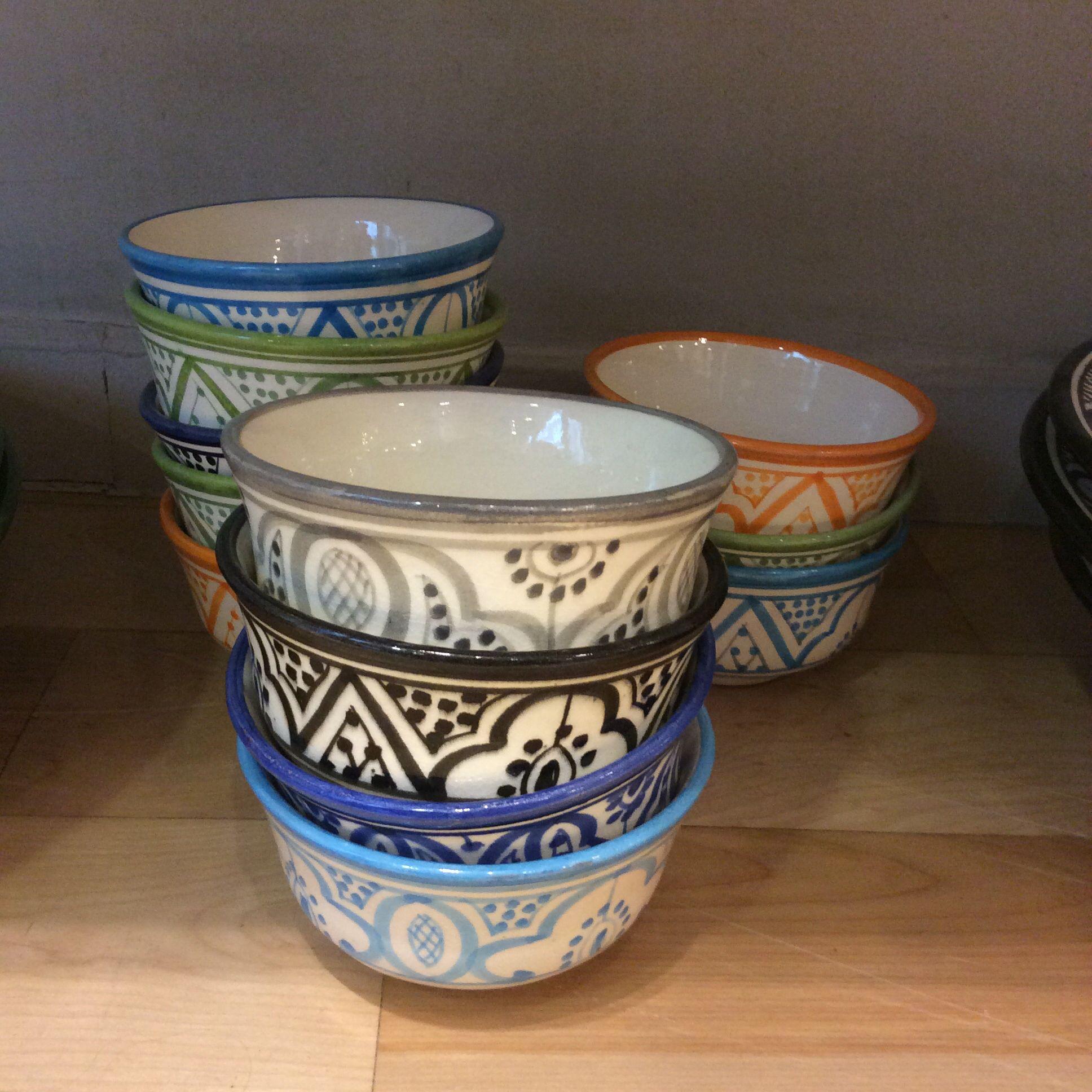 Moroccan tableware ceramics bowl