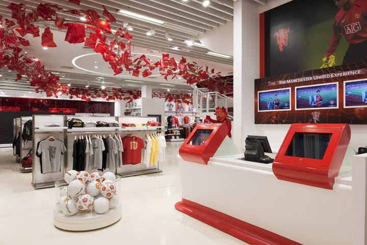 The Manchester United Experience Retail Manchester United The Unit Store Design