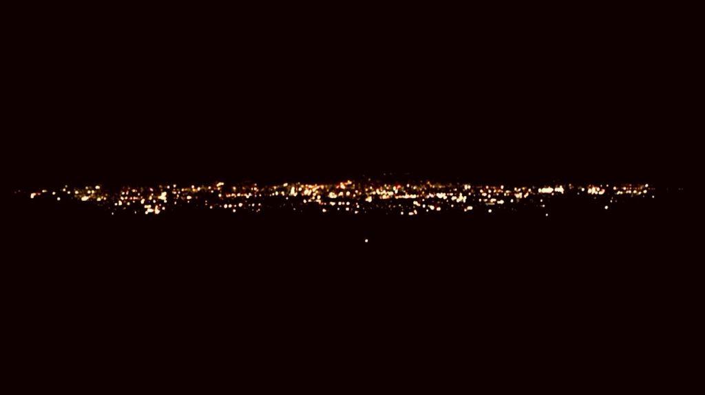 Night View At Lembang Bandung Beautiful Indonesia