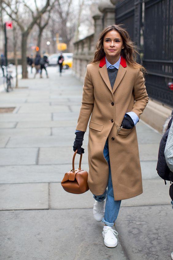 lograr que tu look no se vea barato abrigo largo