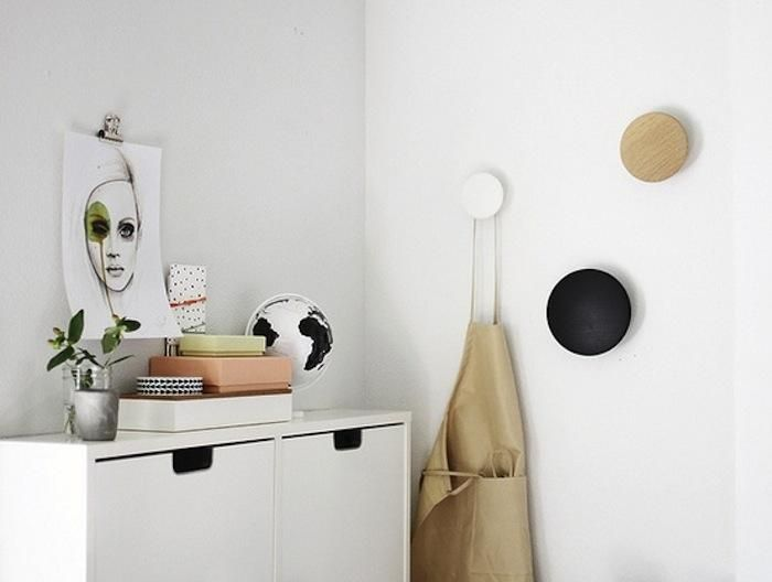 Ikea Hook high/low: dot wall hooks | ikea cabinets, coat hooks and walls