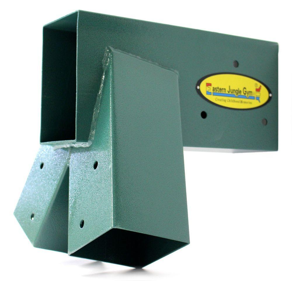 Wonderful Eastern Jungle Gym Easy 1 2 3 Heavy Duty Steel A Frame Swing Set Bracket  Green