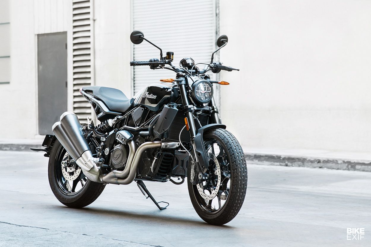 Review The Indian FTR 1200 Motorcycle, Motorcycle