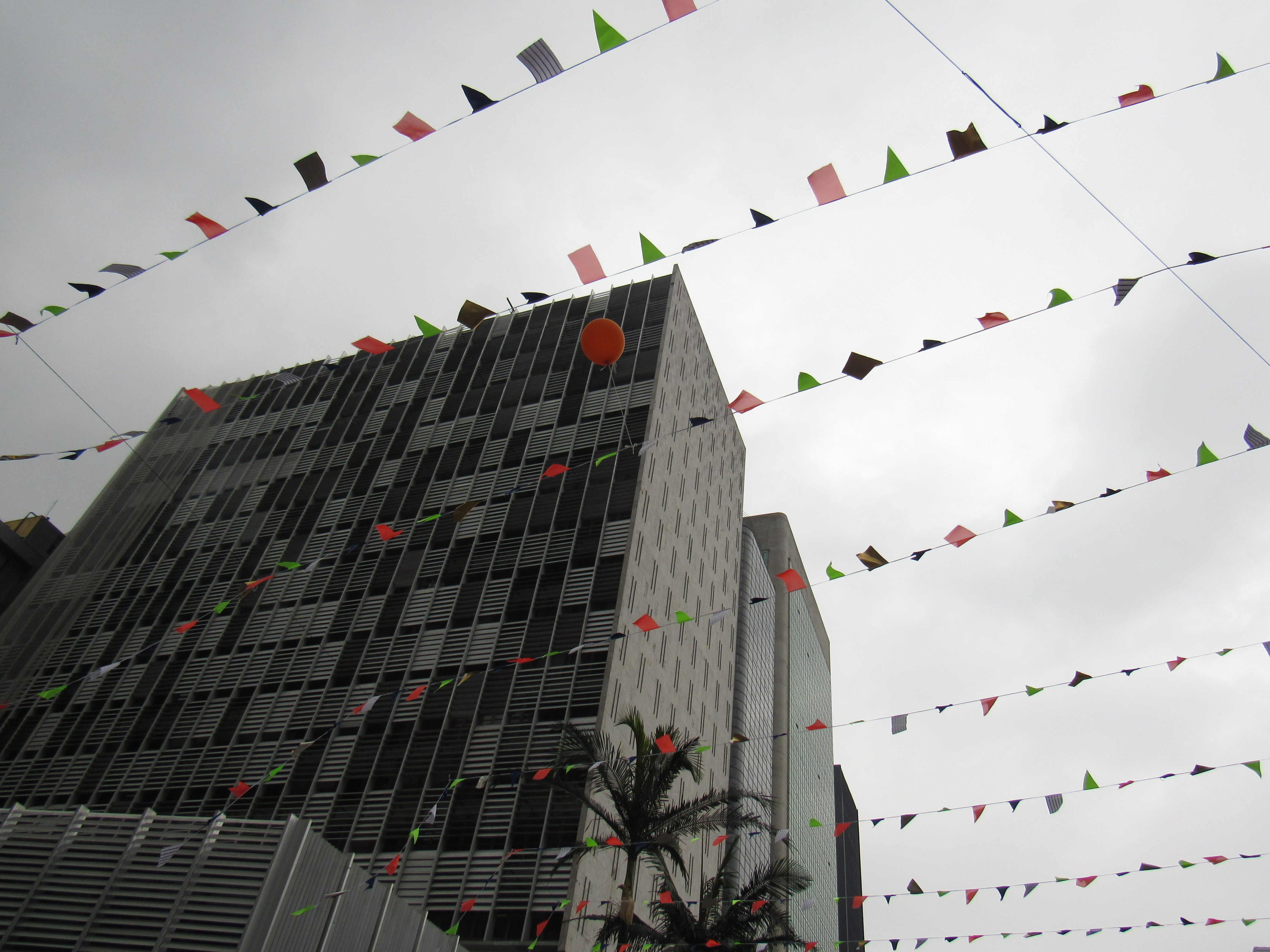 Av. Paulista e seu balão