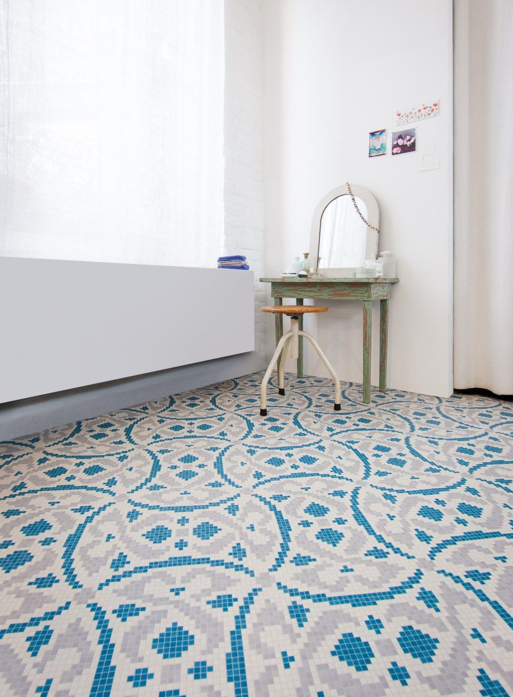 Add a quirky look to your home with this mosaic effect