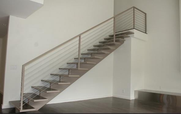 Escaleras de hierro buscar con google barandal - Barandillas escaleras modernas ...
