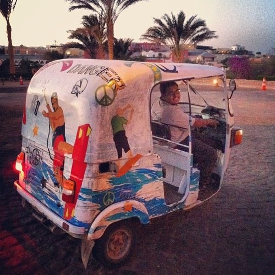 Downtown El Gouna in Hurghada, Red Sea